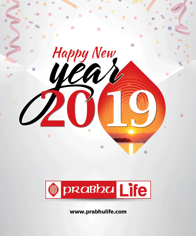 Prabhu Life Insurance wishes you Happy New Year 2019